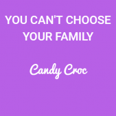 You can't choose your family